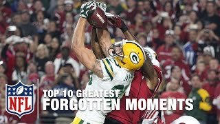 "Top 10 Greatest ""Forgotten"" Moments in NFL History 