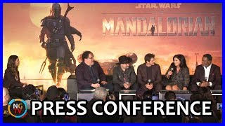 The Mandalorian Press Conference    The Whole Cast Complete Panel