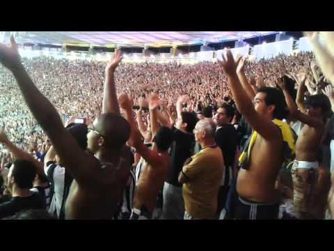 """""""E ninguém cala esse nosso amor! Botafogo 4 x 0 Deportivo Quito"""" Barra: Loucos pelo Botafogo • Club: Botafogo"""