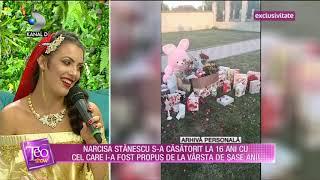 Teo Show (21.09.2018) - Narcisa Stanescu s-a casatorit la 16 ani! Ce povesteste artista? Partea 3
