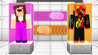 I Transformed into Noob1234's Girlfriend! (Brain Swap Challenge)