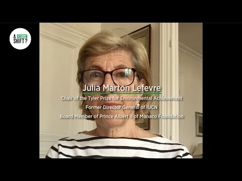 A Green Shift? - Julia Marton Lefèvre