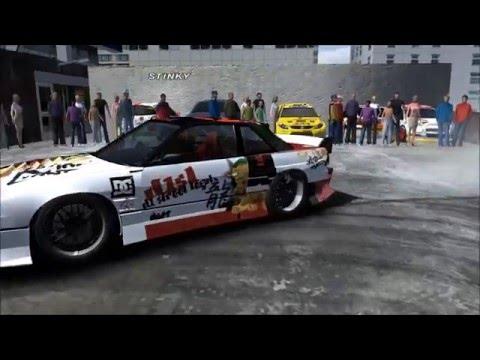 rFactor: Tokyo Drift Parking Lot Preview - Haziq Zurkarnain