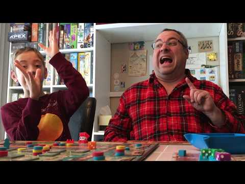 Coimbra Board Game Review! with Justin and Max