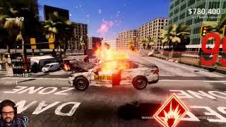 Danger Zone 2 Gameplay - Watch Us Play The Vehicular Destruction Puzzler