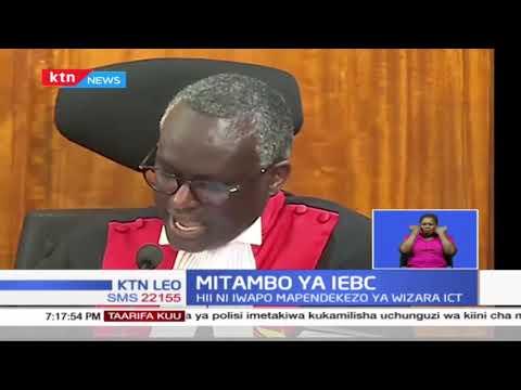 Huenda IEBC ikalazimika kuweka mitambo ya kupeperusha na kuhifadhi matokeo 'Servers' ya uchaguzi