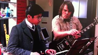 School of Rock - Jack Black teaches Lawrence to play Touch Me by the Doors