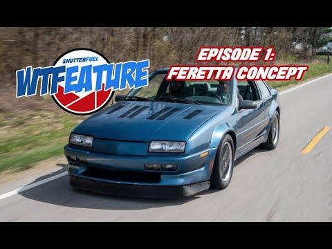 WTFeature Episode #1: Chevy Feretta V8 Powered Beretta Concept Car