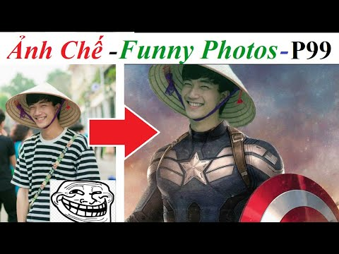 💥Ảnh Chế  – Funny Photos (P 99) , Photoshop Trolls, Captain America
