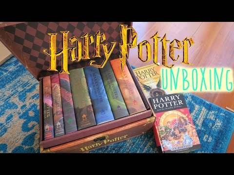 Harry Potter boxed set 1-7 UNBOXING