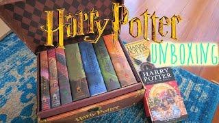 Harry Potter Boxed Set 1-7 UNBOXING