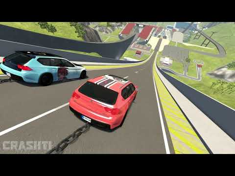 Epic High Speed Jumps #56 – BeamNG Drive | CrashTherapy