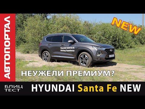 Hyundai  Santa Fe Кроссовер класса J - тест-драйв 3