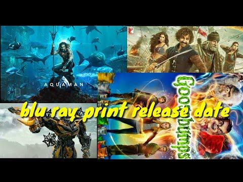 Aquaman,Bumblebee, thug of hindustan and Goosebumps 2 Blu ray print release