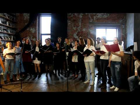 Современный хор Factotum / cover Freddie Mercury-Living on my own