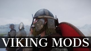 Skyrim: Viking Mods - Viking Armors, Viking Longhouse Player Home & Viking Towns