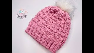 How to KNIT easy Hat for Beginners