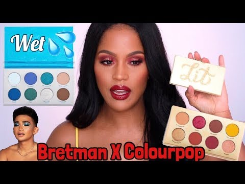 Give It To Me Straight Eye Shadow Palette  by Colourpop #4