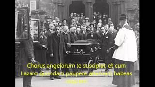 In Paradiusm - Traditional Catholic Requeim Mass