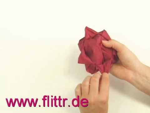 pin servietten falten rose on pinterest. Black Bedroom Furniture Sets. Home Design Ideas