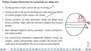 Eğitim Vadisi TYT Coğrafya 3.Föy Coğrafya Koordinat Sistemi 4 (Türkiye'nin Coğrafi Konumu) Konu Anlatım Videoları