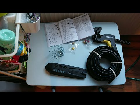 Kärcher Dachrinnen- und Rohrreinigungsset PC 20 (20 m) - ausgepackt und ausprobiert