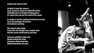 Loose Leaf Love Letter