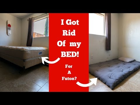 I Replaced My Mattress For A Japanese Style Futon | I Sleep On The Floor | Stephen Shreds Fat