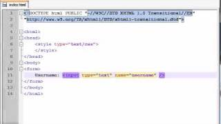 XHTML and CSS Tutorial - 40 - Introduction to Forms