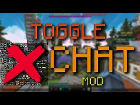 Hypixel Toggle Chat Mod - Toggle guild/party chats and more! (WORKING)