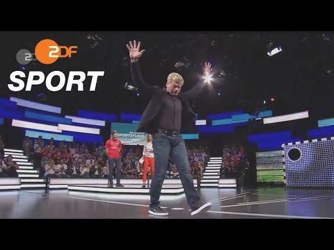 Der Torwand-Titan - Oliver Kahn trifft vierfach | das aktuelle sportstudio - ZDF