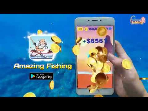 Amazing Fishing wideo