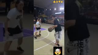 Insane basketball skills  #shorts