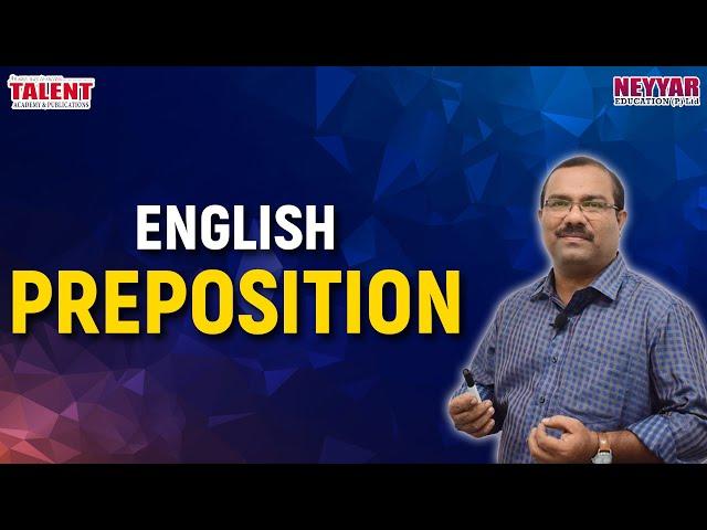 English [ Prepositions ]