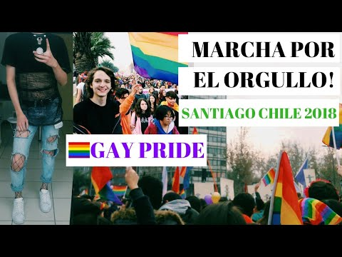 MI PRIMER GAY PRIDE EN CHILE 2018 | @JoseFuenmayor