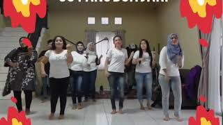 Viral Goyang Dua Jari Senam Dangdut Terkini 2018.  Vocal : Sandrina #viral #youtube #dancecreation