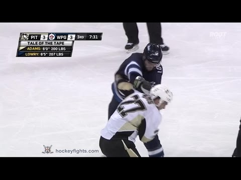 Adam Lowry vs. Craig Adams