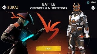 Shadow Fight 3 Official Battle OFFENDER & MISDEFENDER
