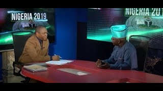 Part 1 - Senator Ayo Arise discuss the altercations within the APC in the face of the 2019 Elections