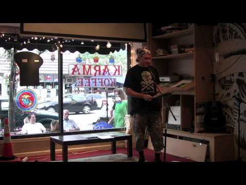 Living Poetry at Karma Koffee--John Burroughs