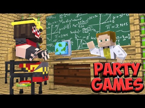 Učím ALKANA Minecraft #1 [Party Games]