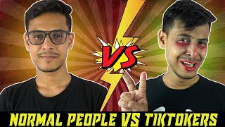 Normal People VS Tiktokers | The Bong Guy