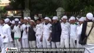 Meminta Penangguhan Penahanan Temannya Ratusan Anggota FPI Datangi Polres Bogor  INews Malam 14/01