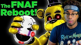 Game Theory: FNAF Just Got A Reboot... (FNAF VR Help Wanted) Reaction