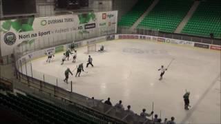 U-20 EBYSL 19.2.2017 HK Olimpija – HK Slavija Junior 5:6, povzetki s tekme