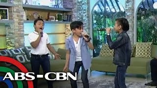 """UKG: TNT Boys belt out their own rendition of """"And I Am Telling You"""""""
