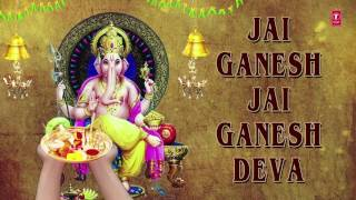 Ganesh Aarti, JAI GANESH DEVA by Anuradha Paudwal I Full Audio Song - Download this Video in MP3, M4A, WEBM, MP4, 3GP