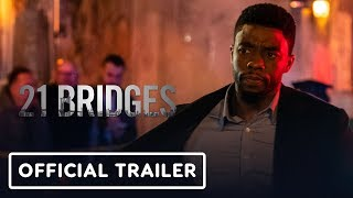 21 Bridges - Comic Con 2019 Trailer (2019) Chadwick Boseman, JK Simmons
