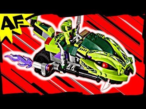 Vidéo LEGO Ninjago 9447 : La moto serpent de Lasha