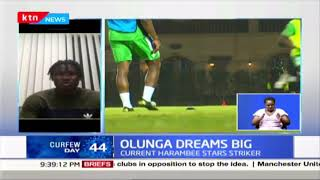 Harambee Stars player Michael Olunga dreaming big